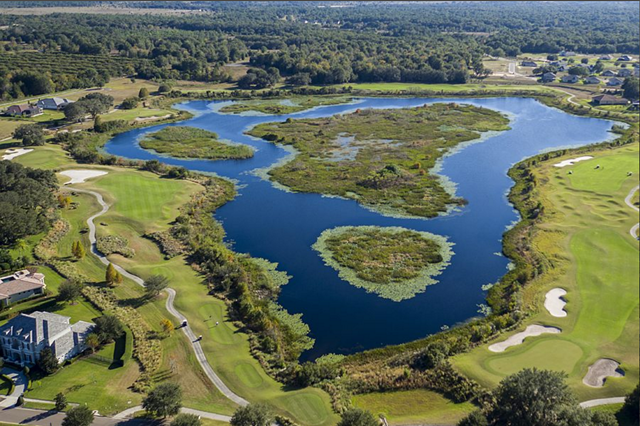 Florida country club community