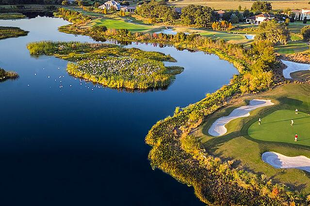 Golf courses in Orlando area